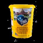 MANTEIGA DE PRIMEIRA QUALIDADE COM SAL 500G - TINA