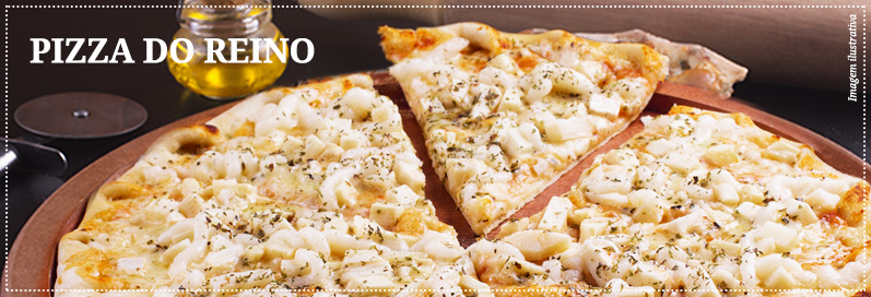 Receitas Pizza do Reino
