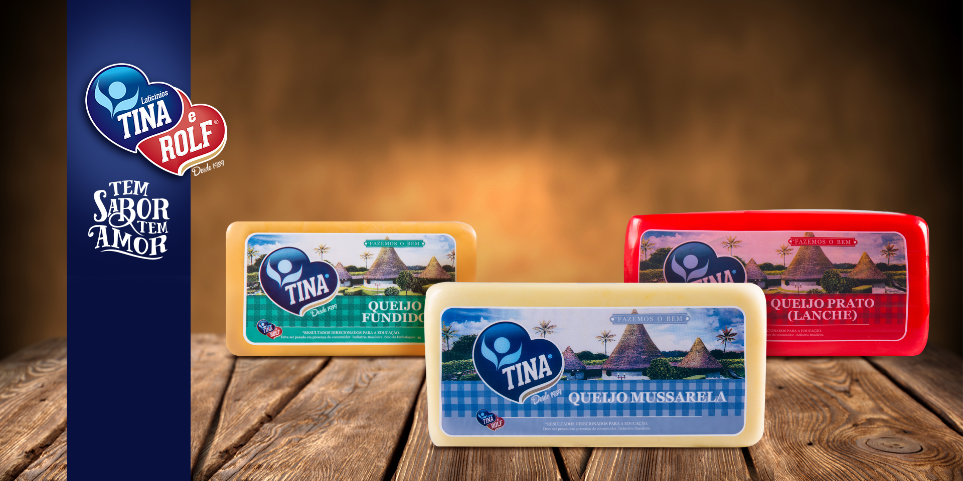 Banner produtos queijo barras