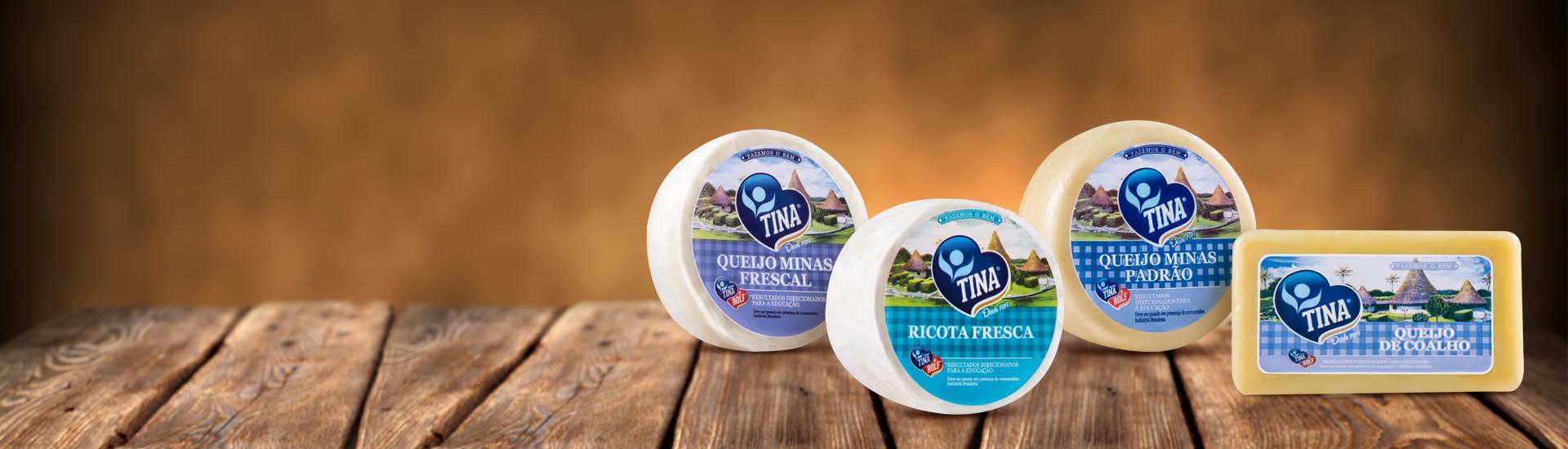 Banner interno queijos